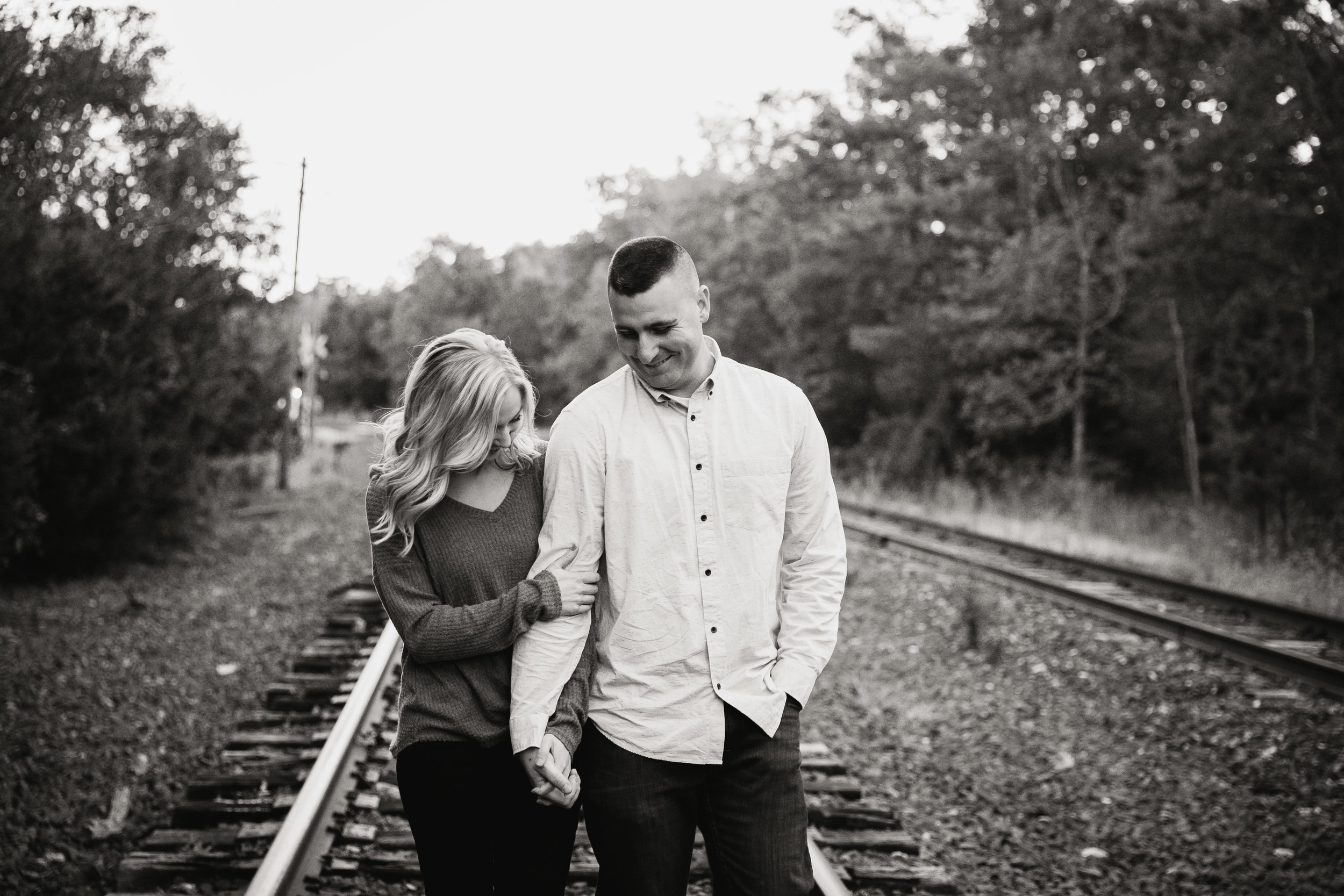 Katie and Kev - Train Tracks Engagement Photography - 029.jpg