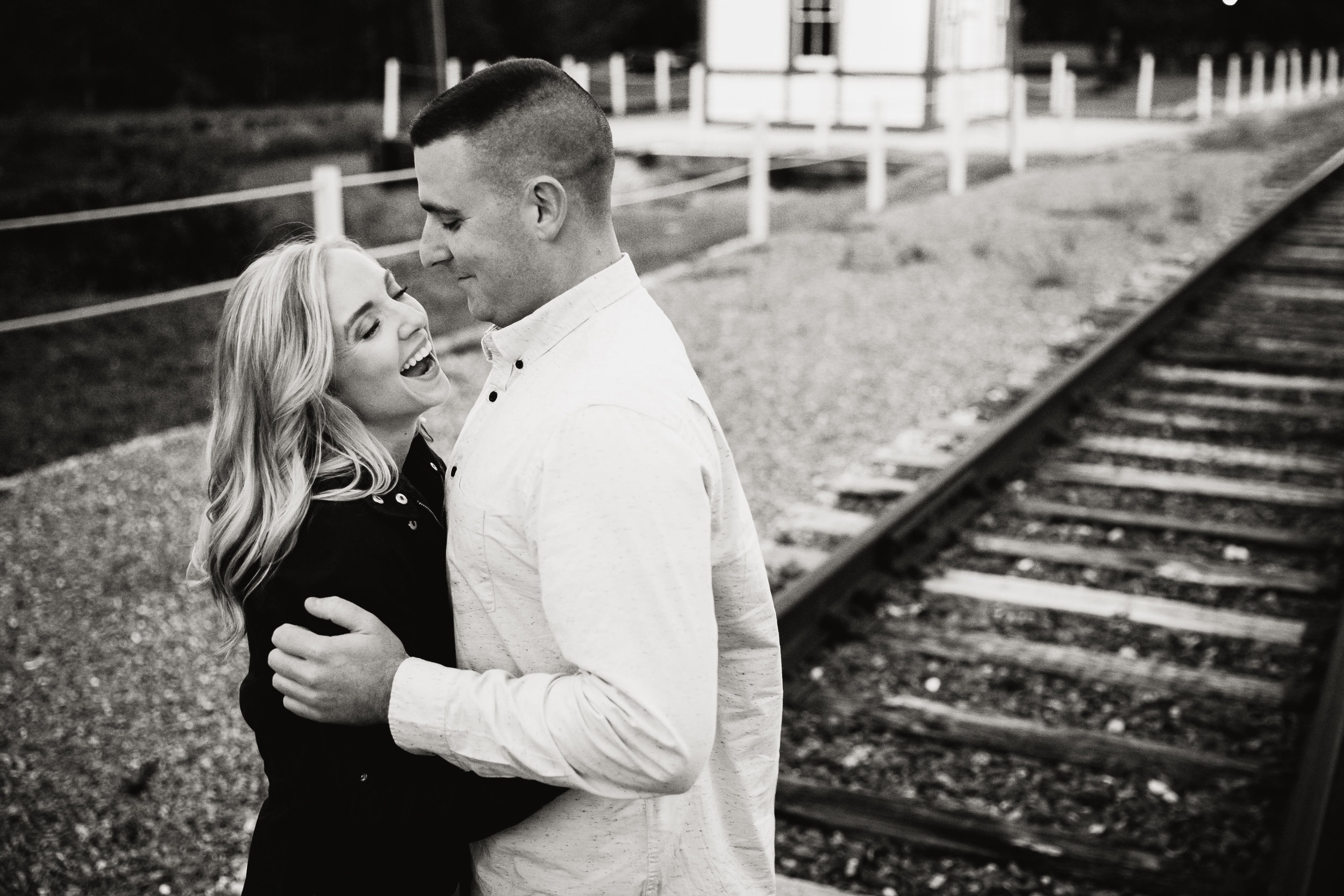 Katie and Kev - Train Tracks Engagement Photography - 034.jpg
