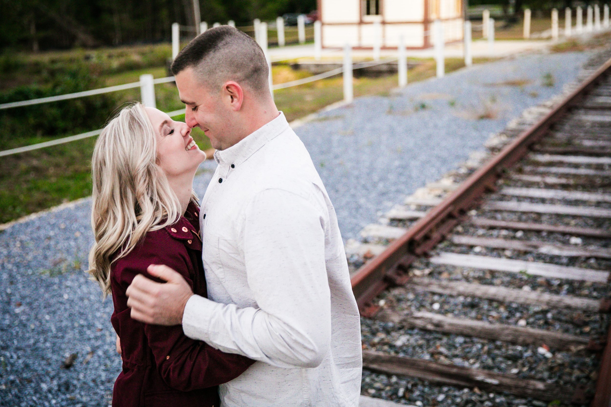 Katie and Kev - Train Tracks Engagement Photography - 035.jpg