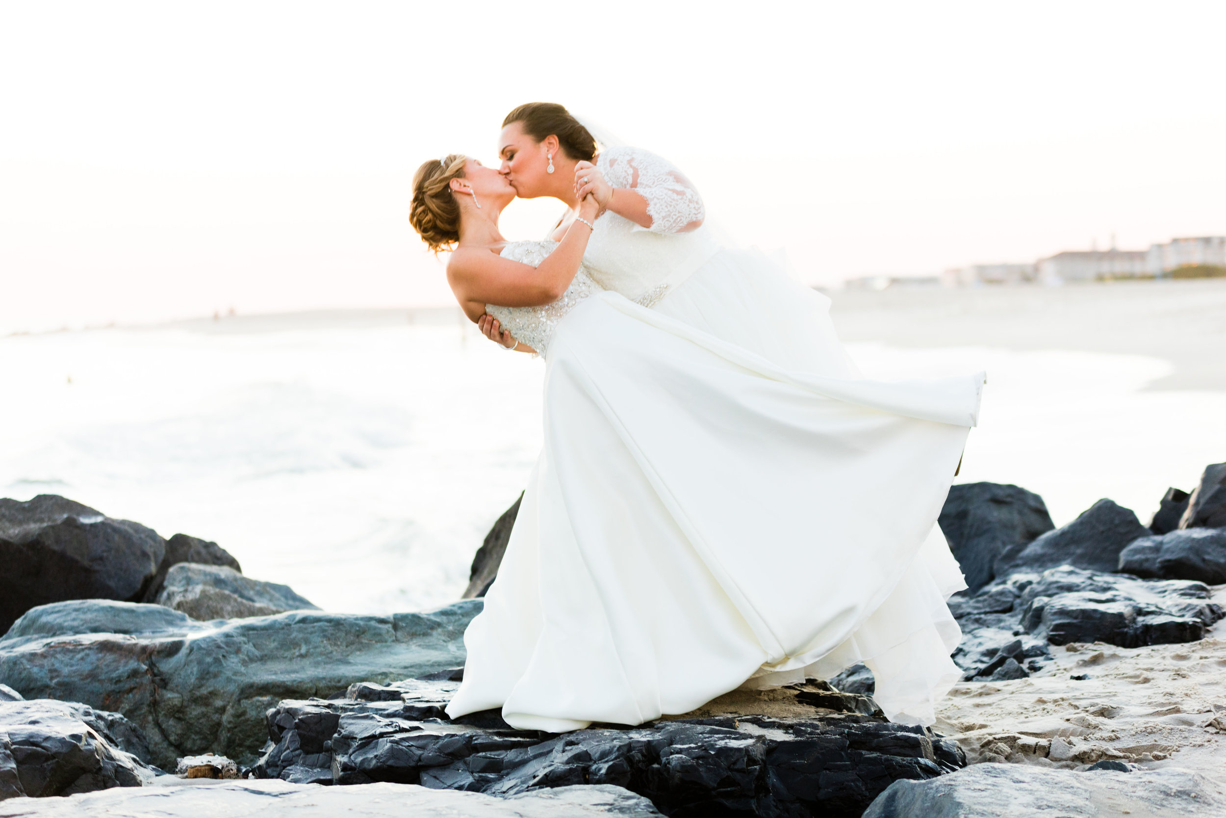 Kim and Dominique  - Cape May Convention Hall Wedding - 159.jpg