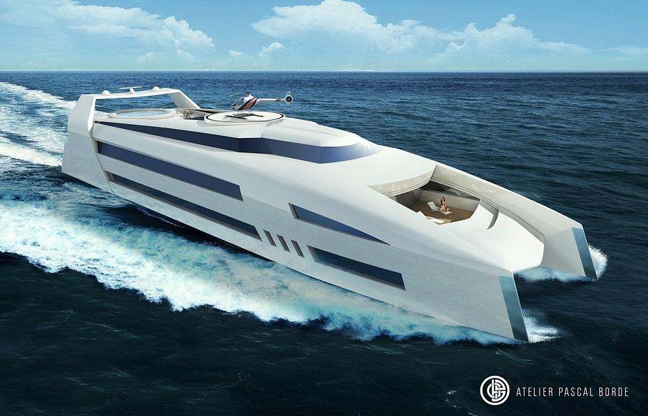 RH2 60 meters catamaran