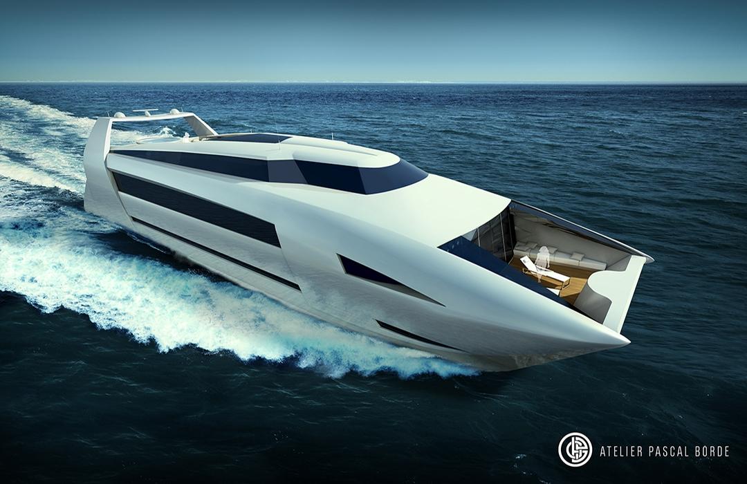 RH1 40 meters catamaran