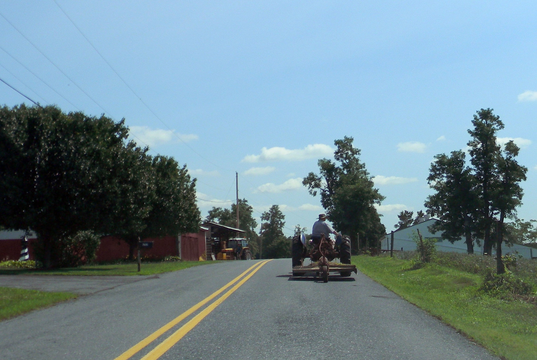 Rural scene in West Hanover Township