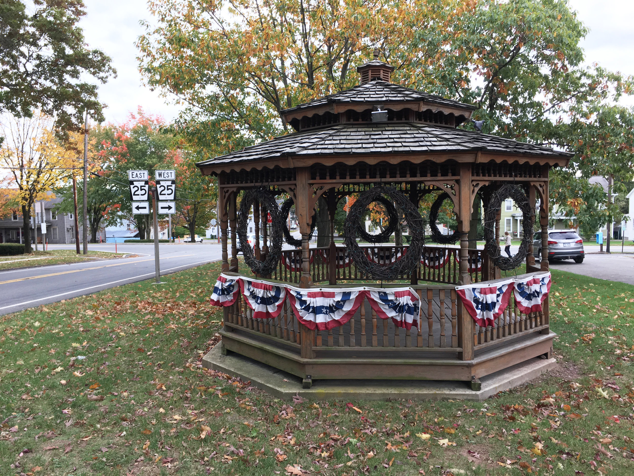Berrysburg Borough gazebo