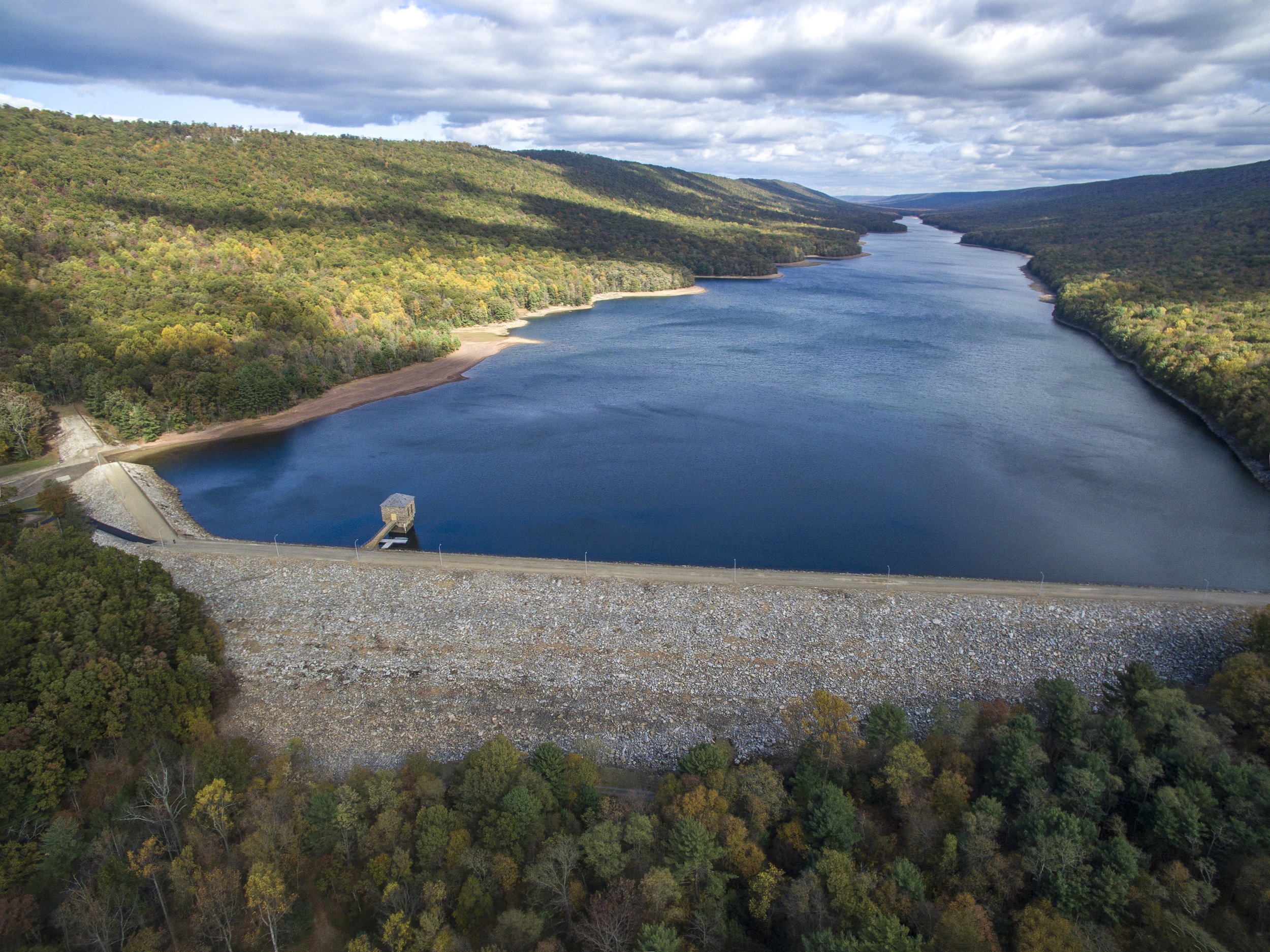 DeHart Dam and Reservoir (courtesy Capital Region Water)