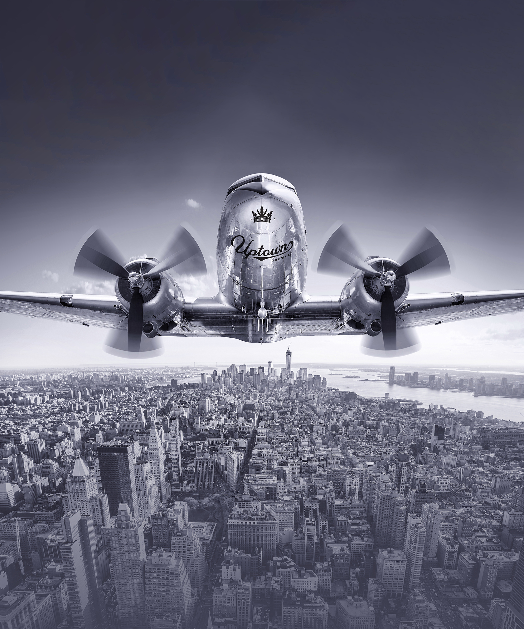 [at 40 for etsy]Uptown Growlab LIVE Vintage Airplane [at 60 x 72] [v4] and Manhattan Skyline Brand G Creative 26 SEPT 2018.jpg