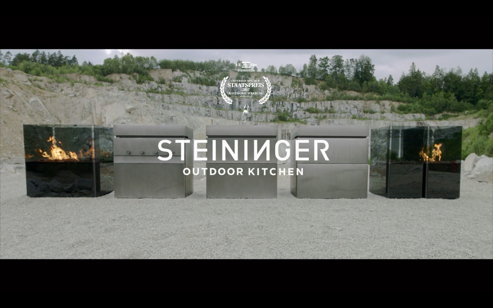 Steininger Rock.Air   Corporate film for Steininger Desiger's Rock.Air outdoor kitchen