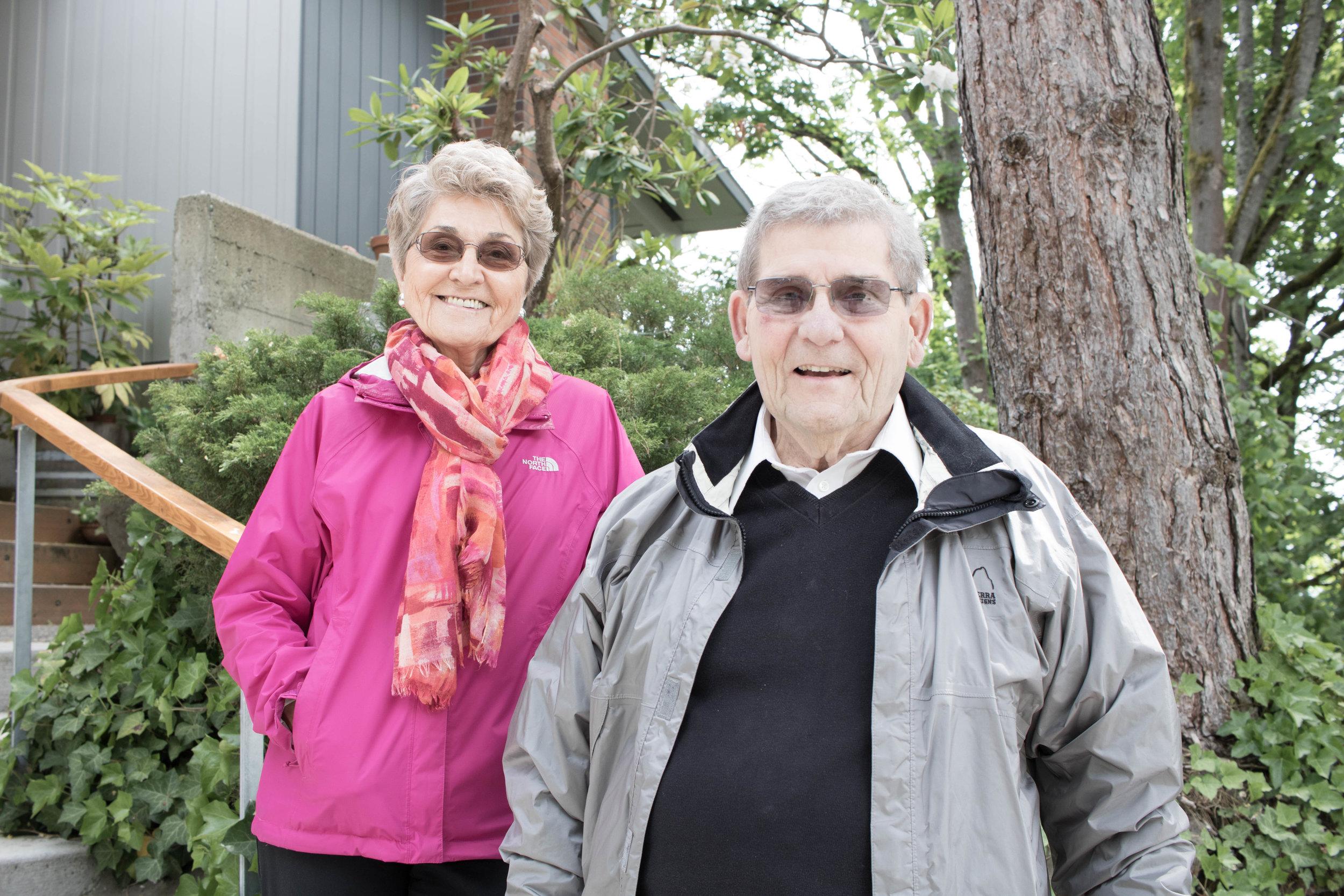 Joan and Ed Singler by Jill Freidberg