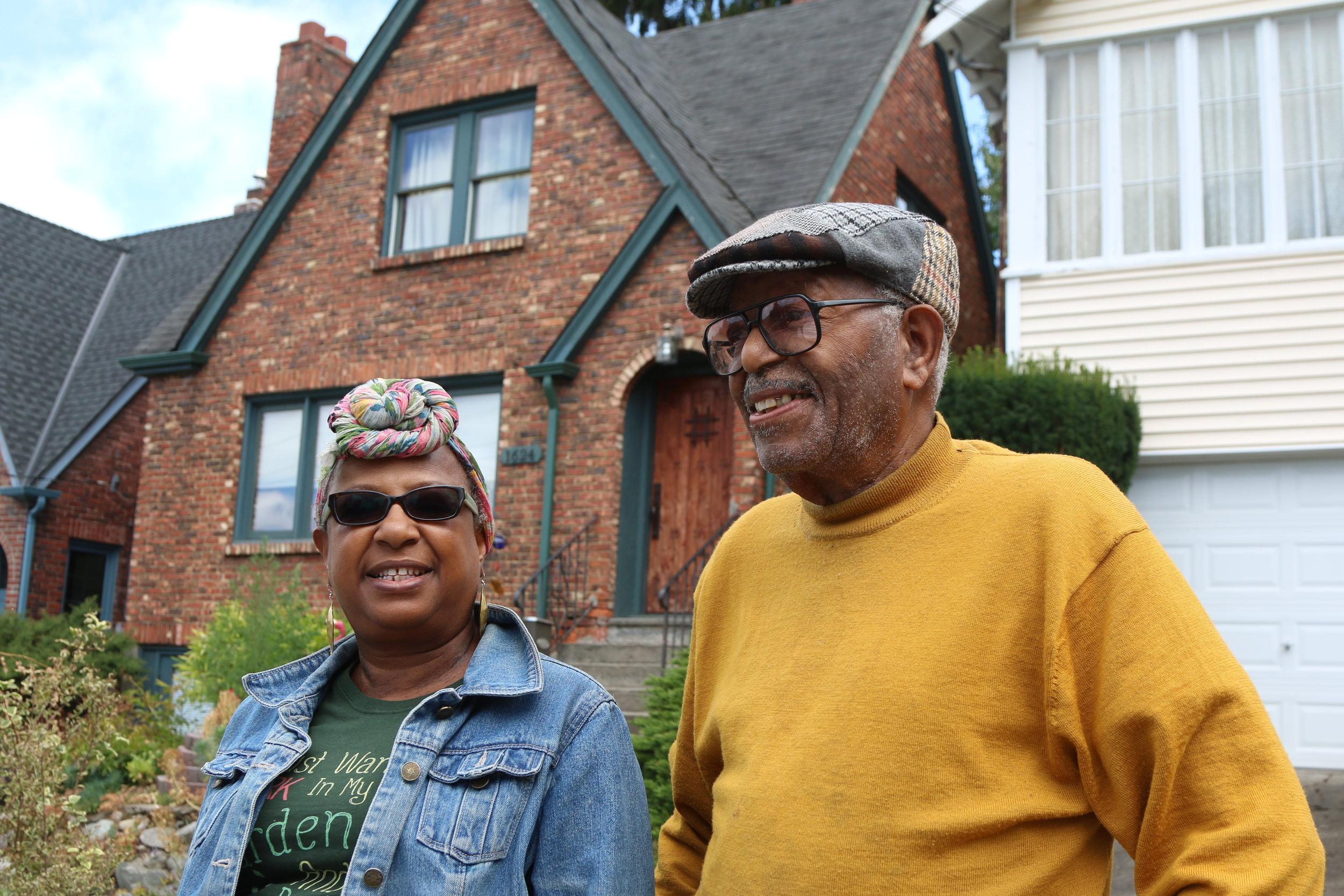 Cecil Beatty and Phyllis Yasutake by Inye Wokoma