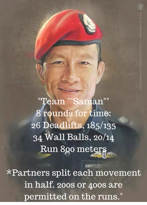 _Team __Saman__8 rounds for time_26 Deadlifts, 185%2F13534 Wall Balls, 20%2F14Run 800 meters_Partners split each movement in half. 200s or 400s are permitted on the runs._.jpg