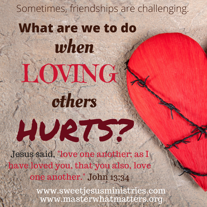 When Loving Others Hurts