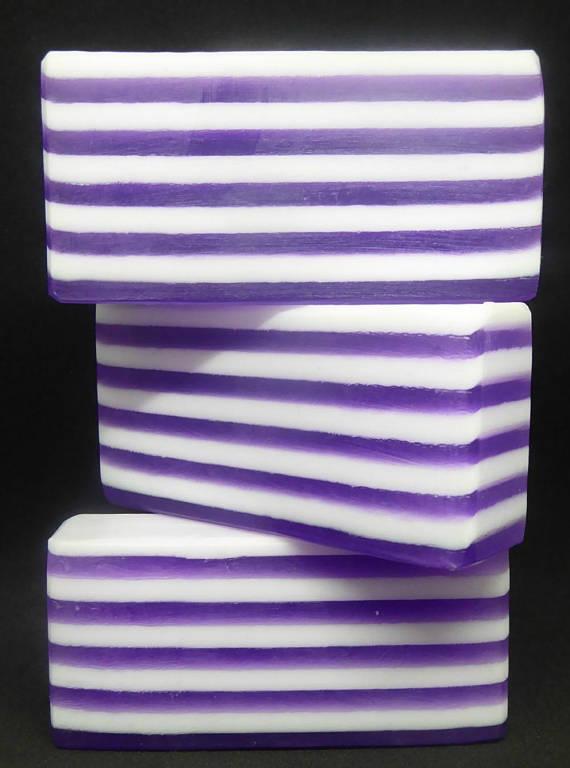 Lavender Soakster stripe