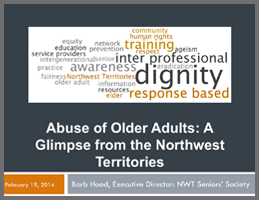 Responding to Abuse of Older Adults  (Barb Hood)
