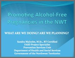 Sandra Malcom: GNWT Health & Social Services (presentation)