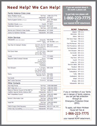 Contact Help Numbers