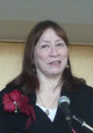 Ethel Blondin-Andrew Tulitaof the Sahtu Region