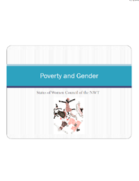 Poverty and Gender Presentation at Anti-Poverty Round Table