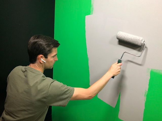 Big changes coming to the studio! #paint #remodel #productioncompany #setlife #airpods