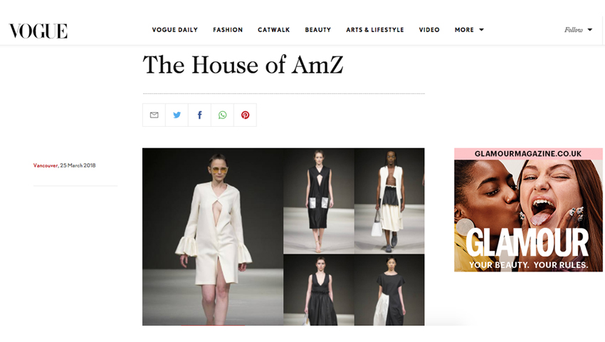 The House of AMZ | Vogue UK