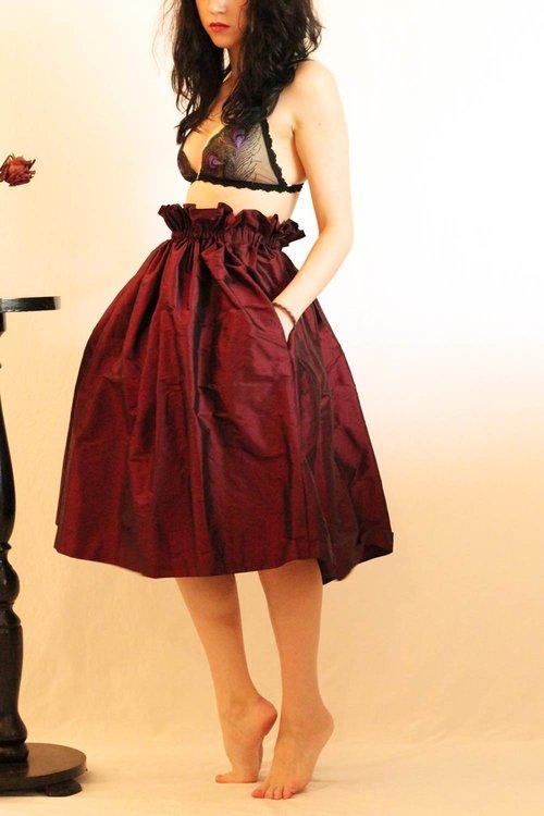 Silk Seta Skirt -