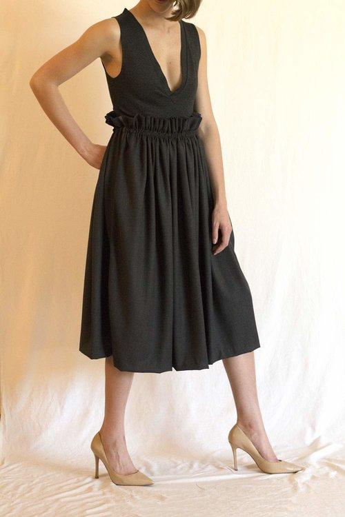 Wool Seta Skirt -