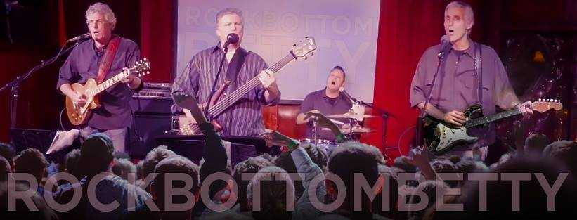 Rock Bottom Betty   Rock Bottom Betty has been entertaining audiences since 1996 with it's up-beat, creative renditions of popular music from the 40's all the way up to today's hits - and audiences love 'em!