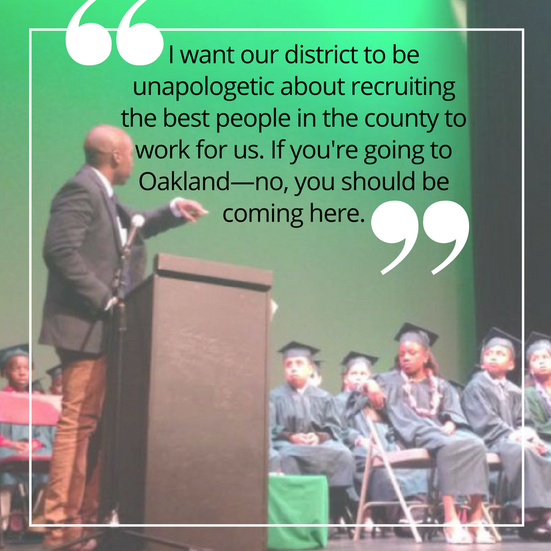 As SF Board of Education commissioner, I will work to recruit and keep exceptional teachers in our public schools. We must learn how to present the value of our district to both teachers and families.  #sc4sb