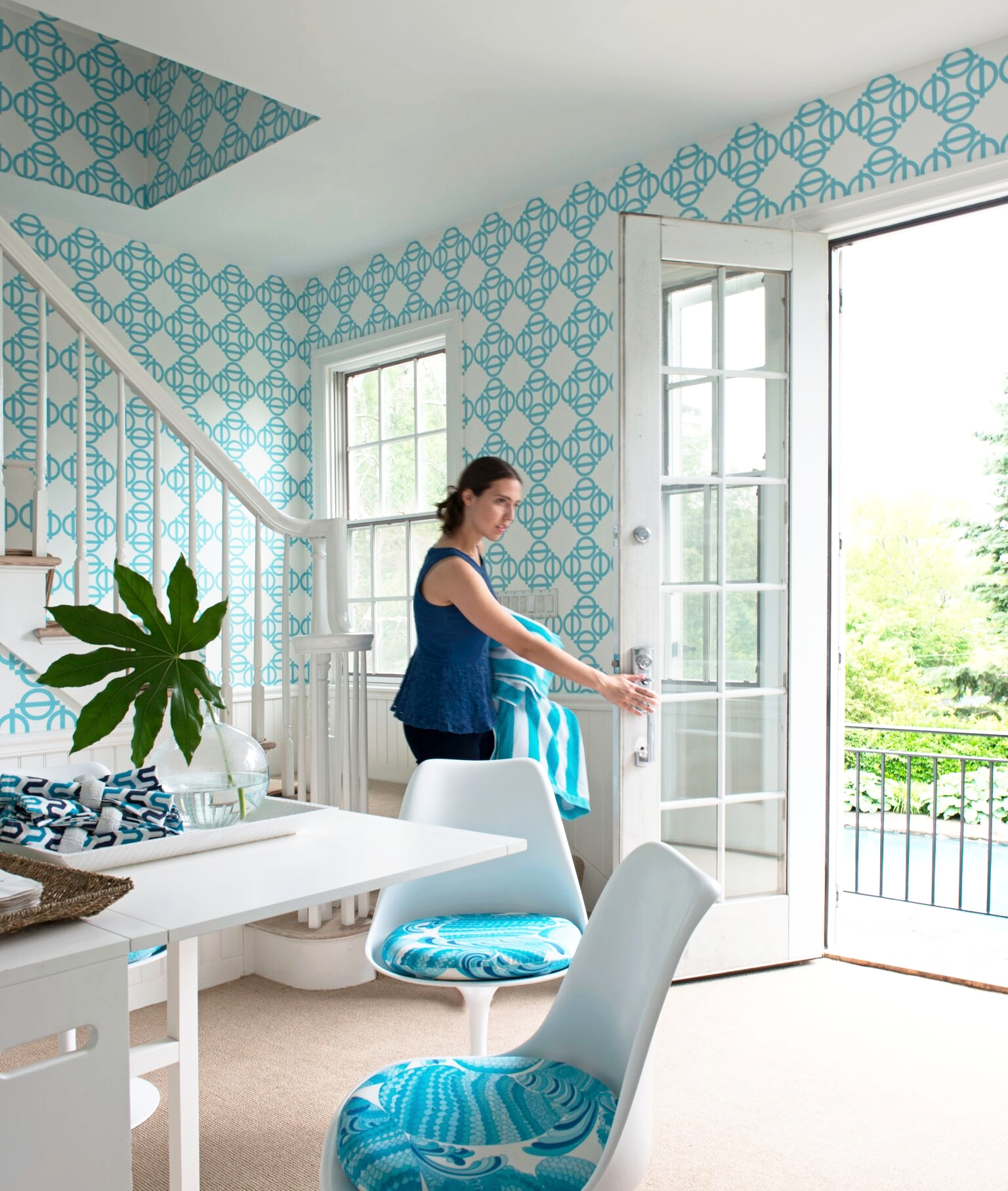 Lydia at home interior design by Laura Tutun - design, patterns, architecture