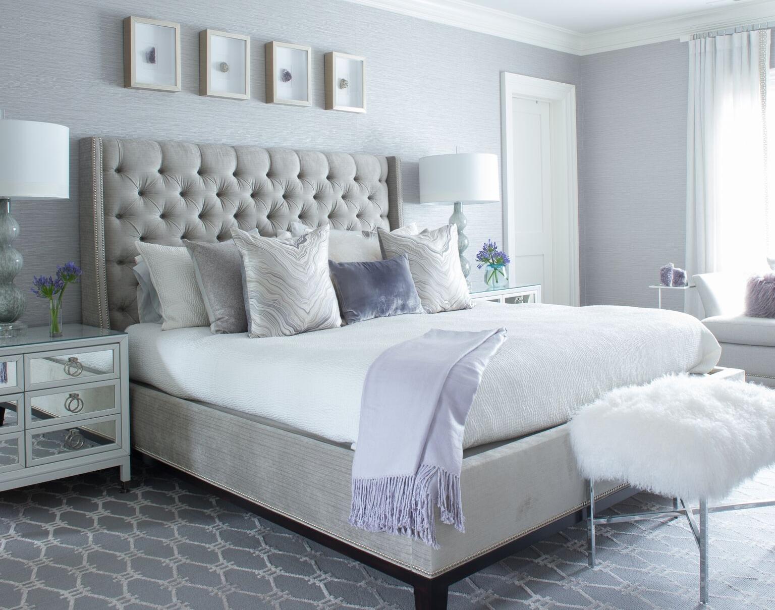 3. STEAM THE BED • Interiors:  Susan Glick Interiors
