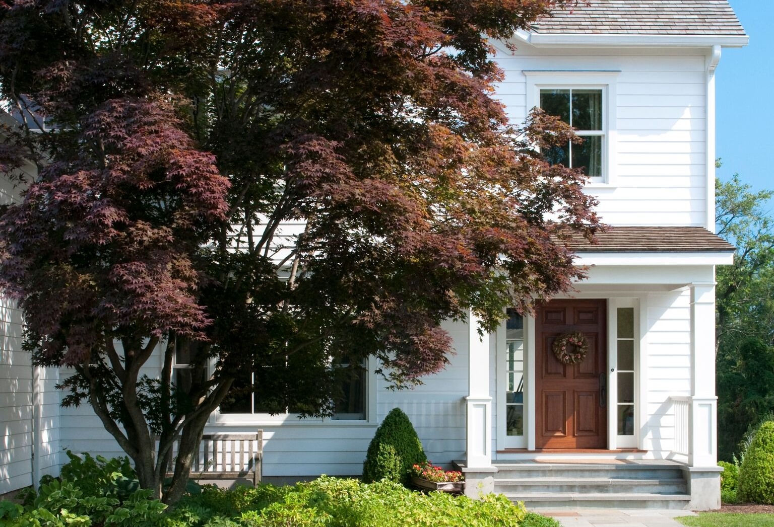7. BOOST THE CURB APPEAL •  As seen in  East Coast Home + Design