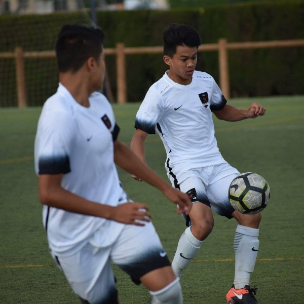 Logan Calpito - HAWAIʻI'S THIRD PLAYER TO PLAY ON THE ID² NSIT TEAM IN (SPAIN 2017)