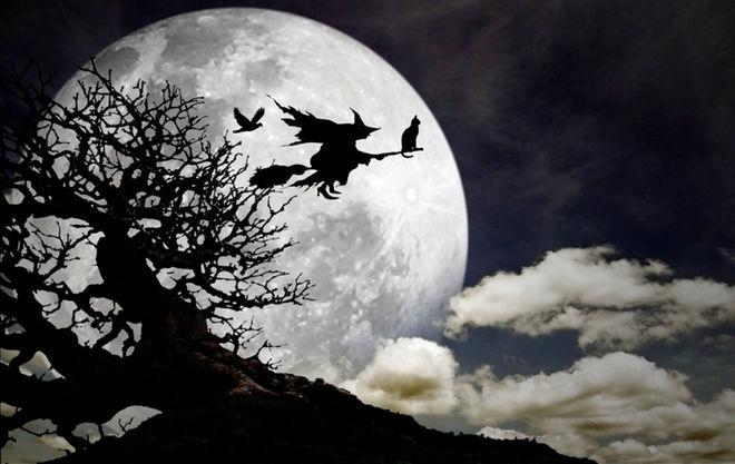 Beware the wild woman roaming around in the dark.
