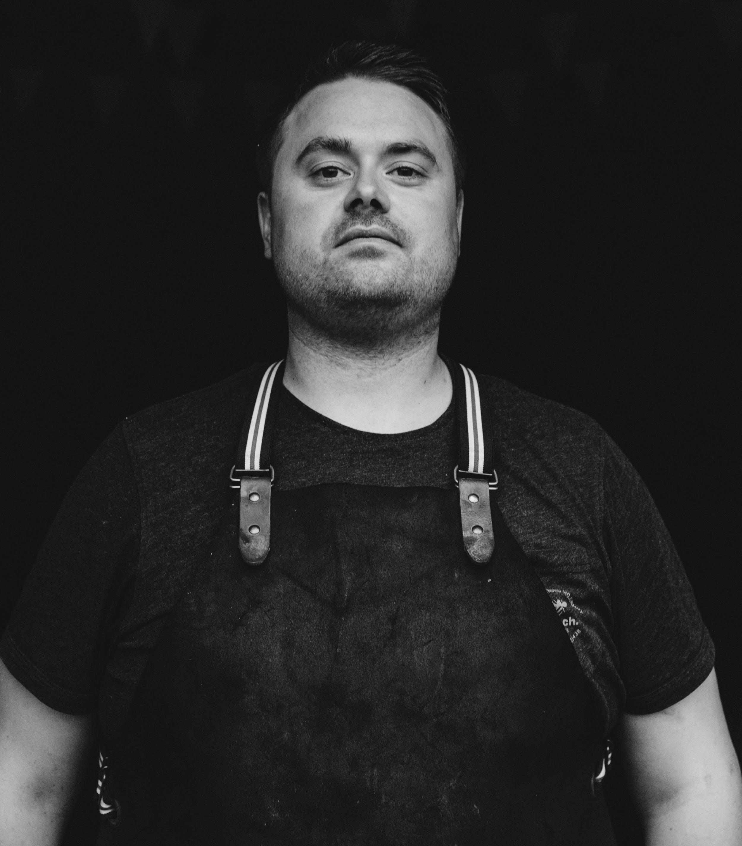 Irish Chef Portrait Toronto Food photographer - Suech and Beck