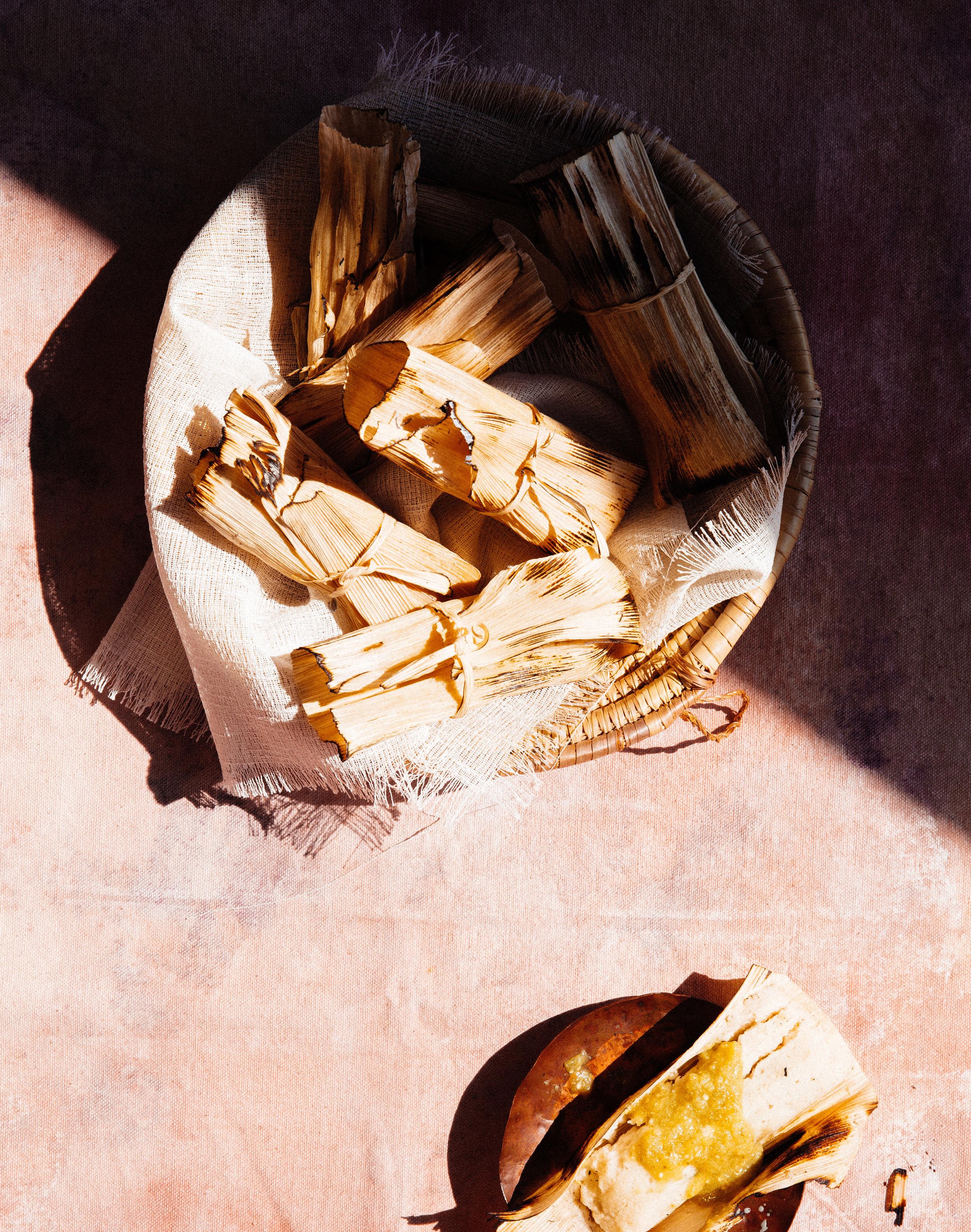 Tamales Toronto Food Photographer
