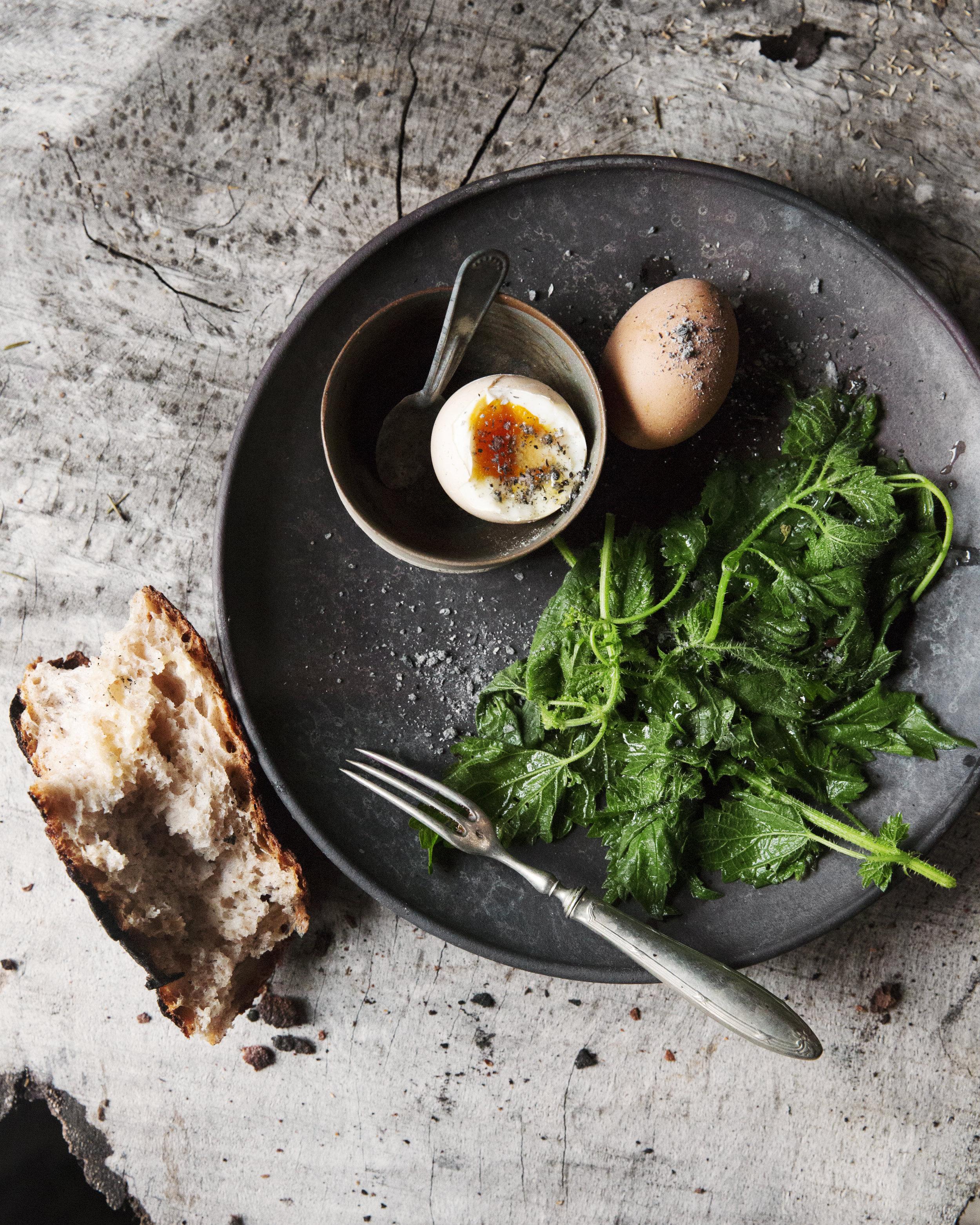Irish Butterd Eggs with Ash Toronto Food photographer