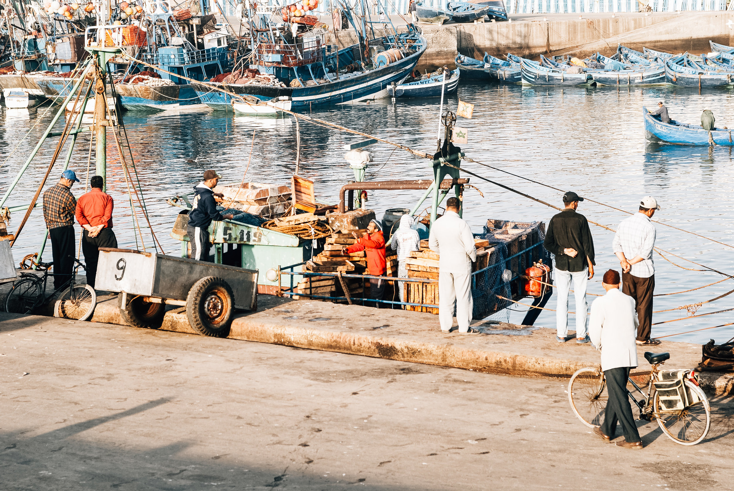Fishermen Essaouira Morocco Toronto Travel Photographers - Suech and Beck