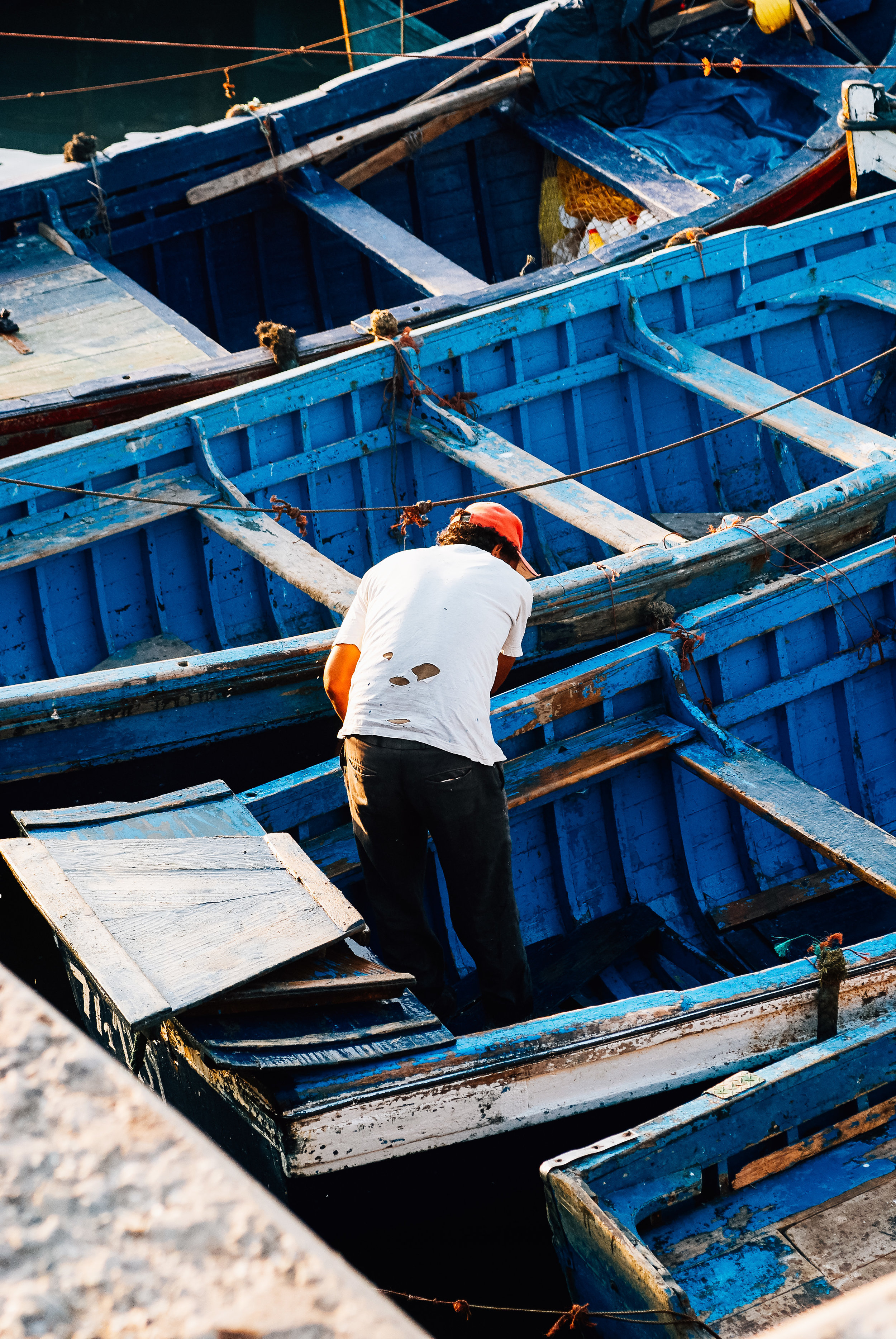 Fisherman Essaouira Morocco Toronto Travel Photographers - Suech and Beck