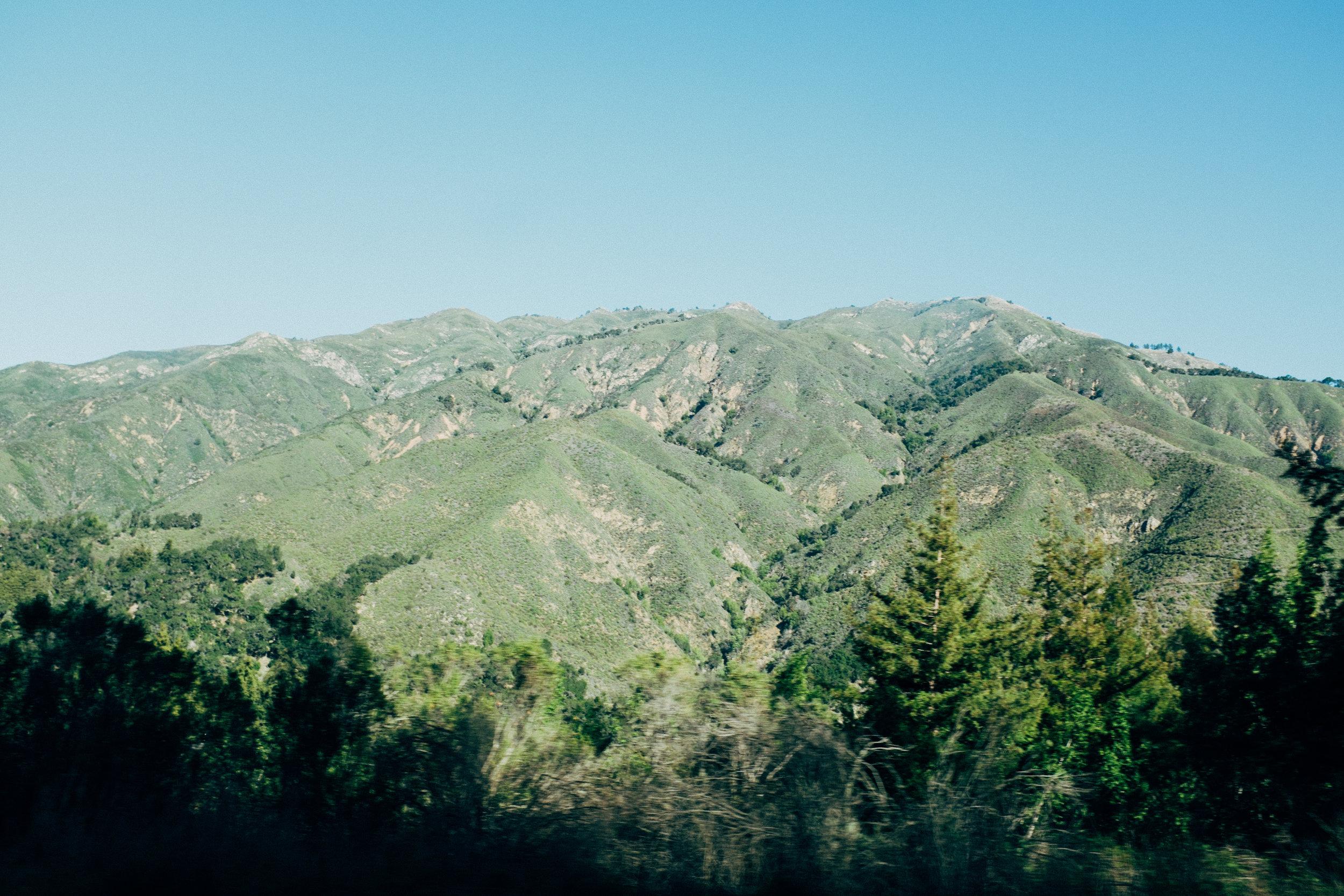 Big Sur Mountains California Toronto Travel Photographers - Suech and Beck