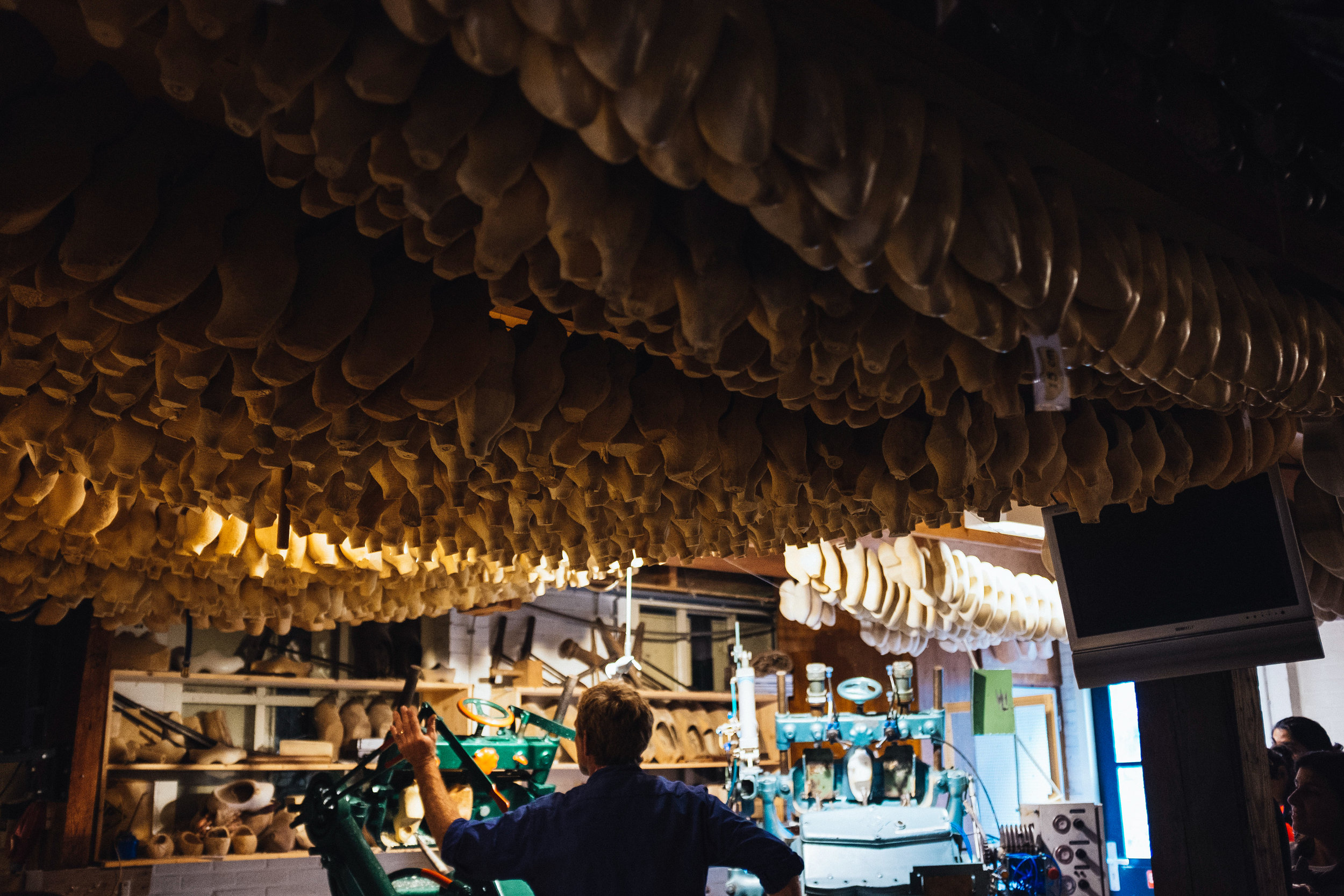 Dutch clog maker Netherlands Toronto Food Travel Photographers - Suech and Beck