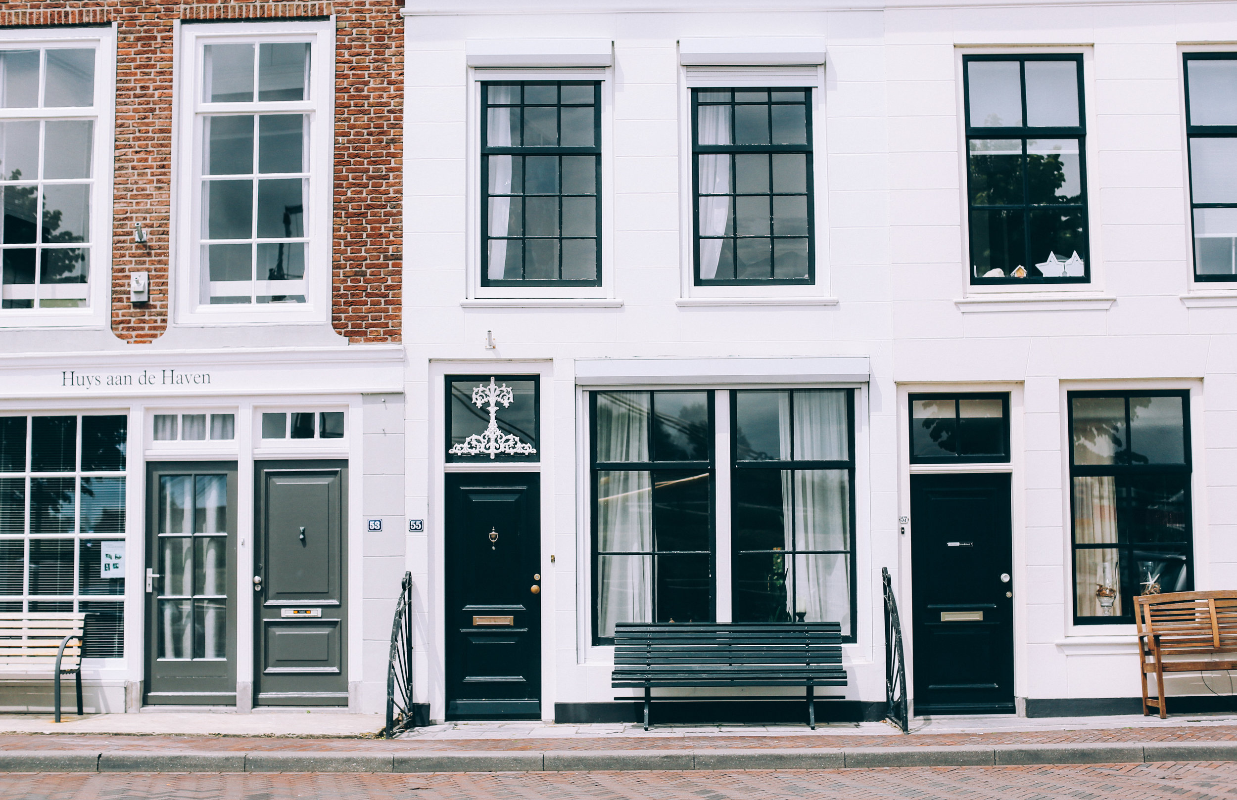 Traditional Dutch Houses Architecture Amsterdam Toronto Food Travel Photographers - Suech and Beck