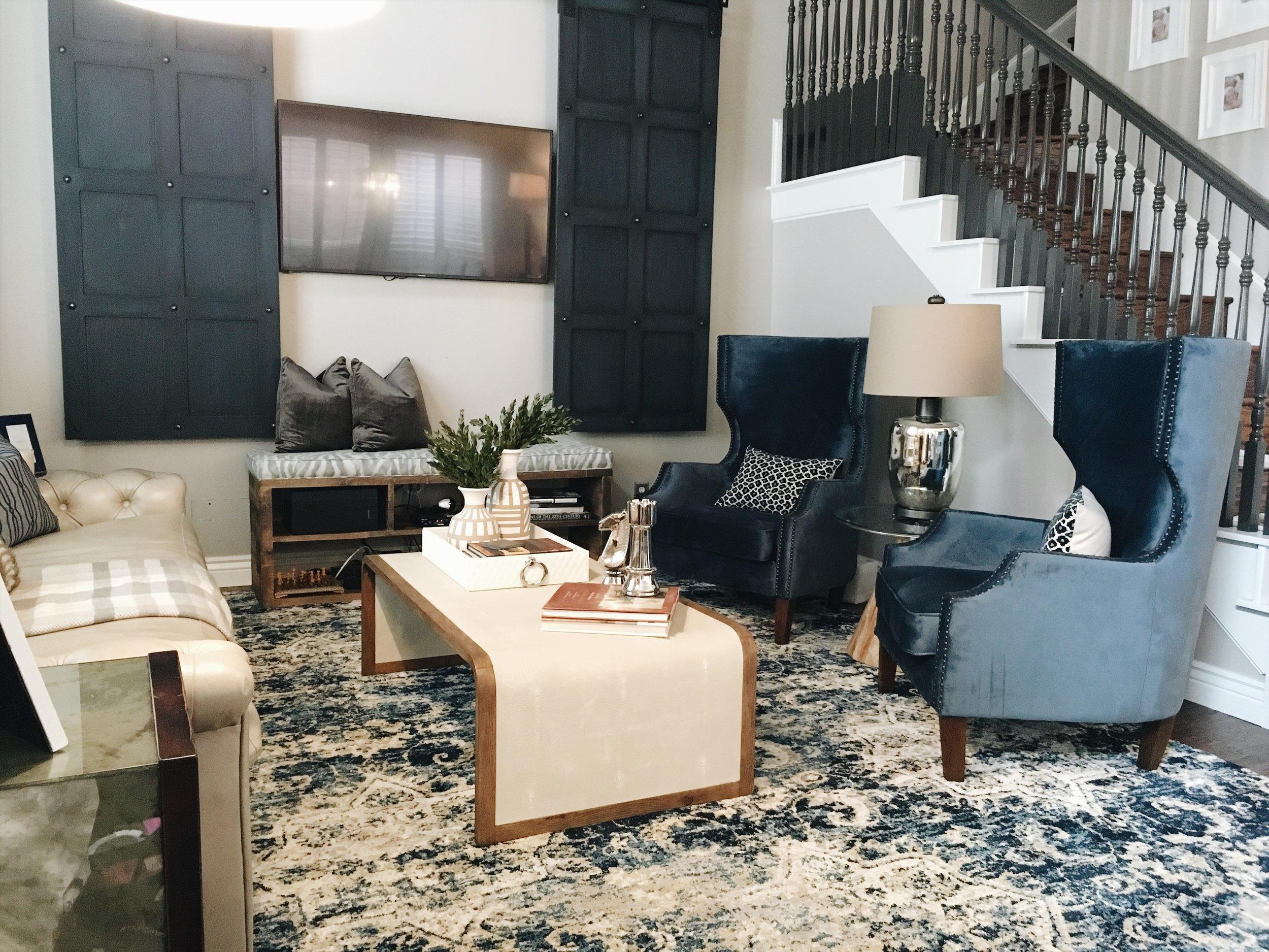 Formal living navy blue design.JPG