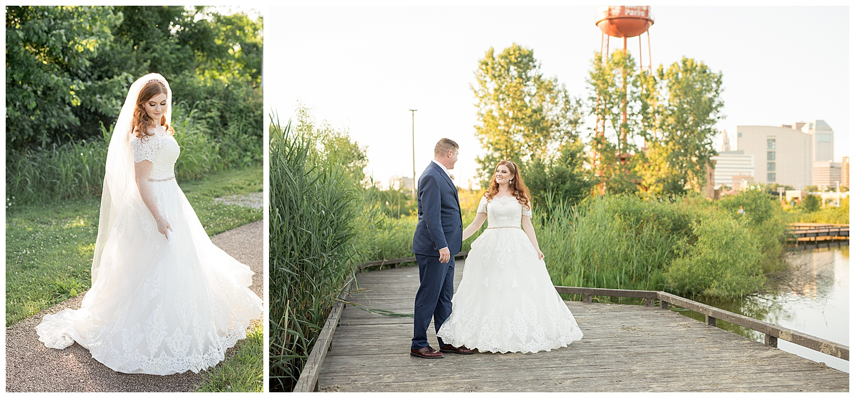 Grange Insurance Audubon Center wedding