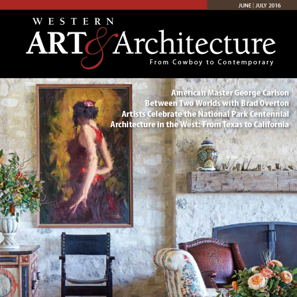 """The Art of the House: A harmonious client-architect match produces a home with artistic touches at every turn in Portola Valley, California"""
