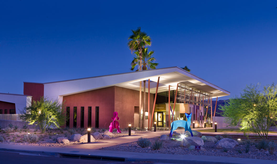 Grand Award. Gold Nugget Awards: Best Public/Private Special Use for Palm Springs Animal Shelter