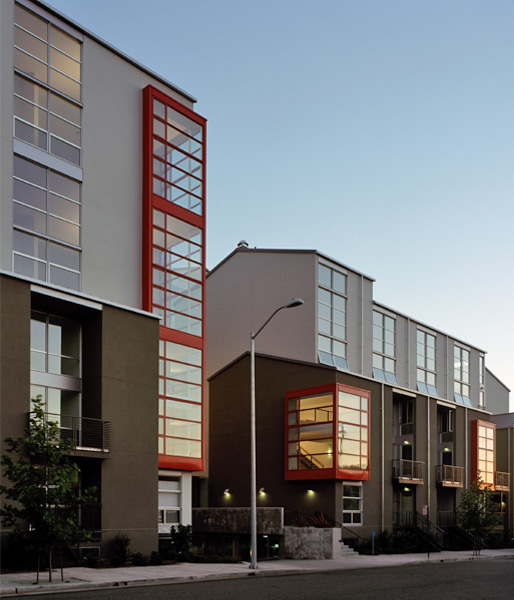 Gold Nugget Award. Gold Nugget Awards: Best Sustainable Residential Neighborhood for Green City Lofts