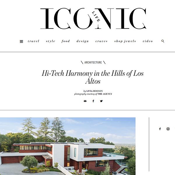 """""""Hi-Tech Harmony in the Hills of Los Altos"""""""