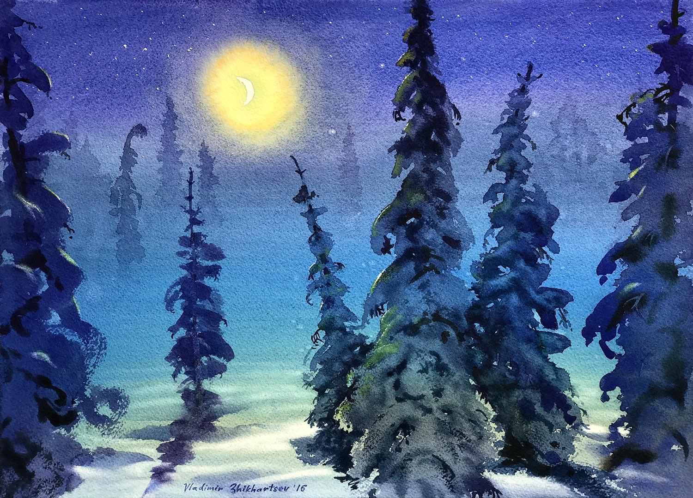 Moonlight Sonata by Vladimir Zhikhartsev
