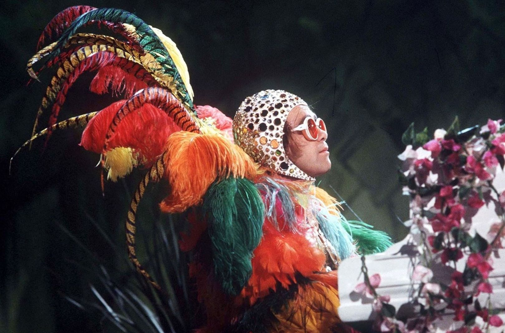 "Elton John, ""Muppet Show,"" 1977, David Dagley | Image from  Numero"