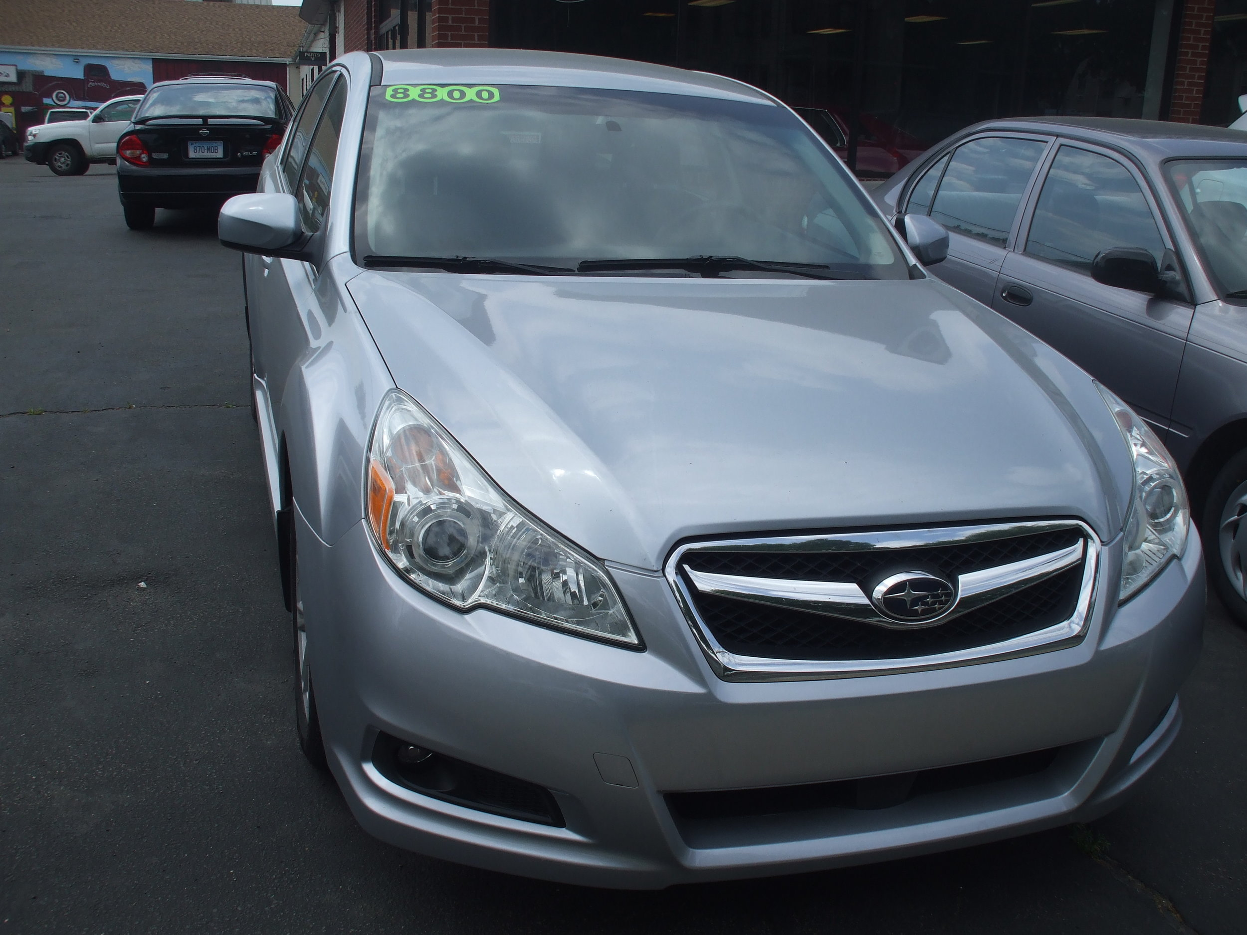 2012 Subaru Legacy $ 8,800  4door Silver Great Condition 6spd AWD Warranty Stock # 17148 117k Call or Stop by Cerrito's Auto Sales 280 N colony St Wallingford Ct 06492 203-265-6142