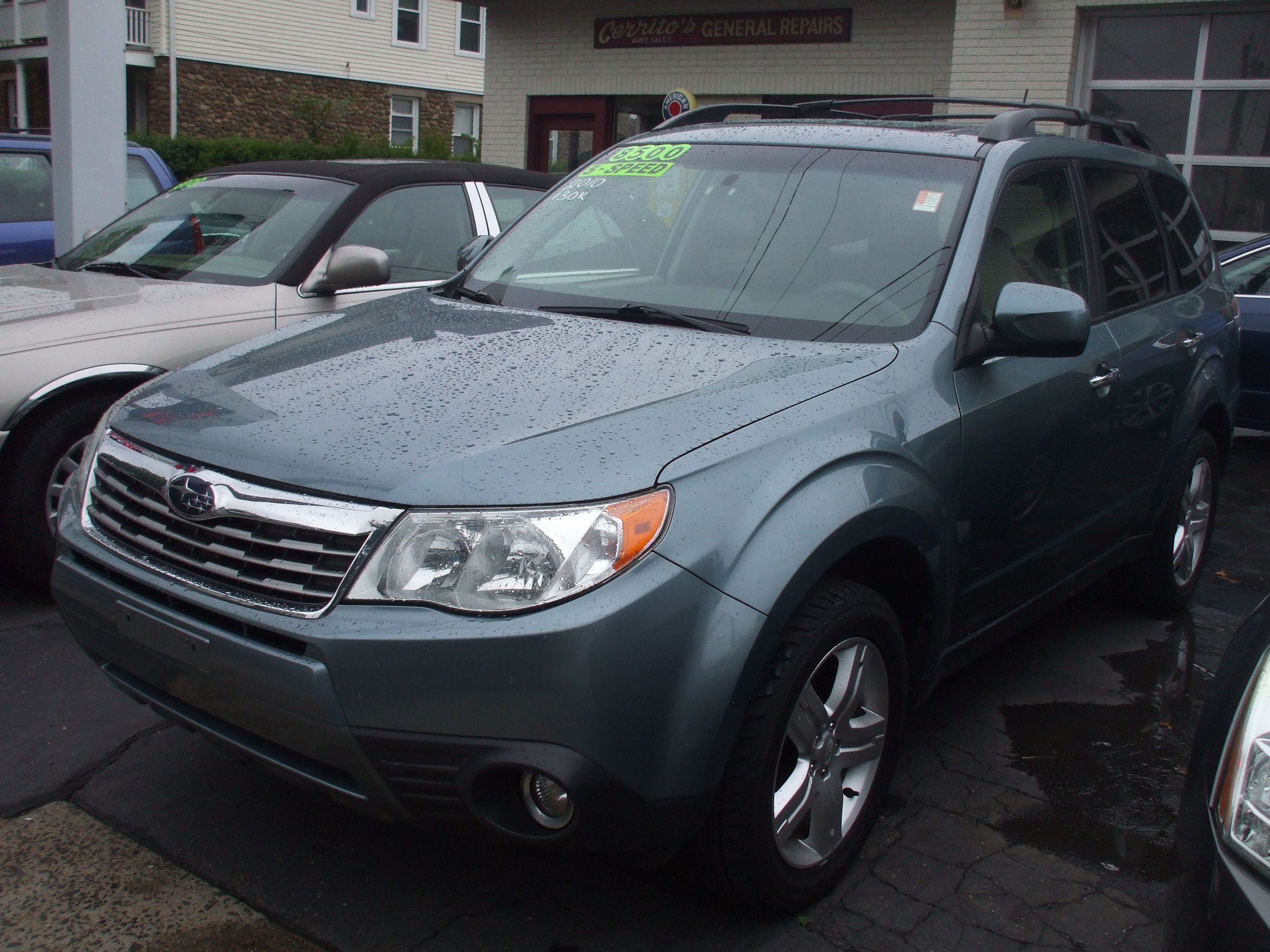 2010 Subaru Forester Blue $ 8,500       stock # 17158 5spd 130k Great Condition